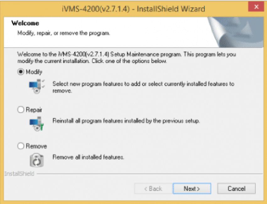 Cài đặt phần mềm ivms 4200