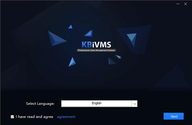 Phần mềm xem camera trên máy tính KBiVMS 12
