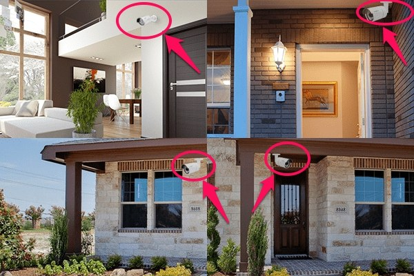 Lựa chọn vị trí phù hợp để lắp camera tại nhà