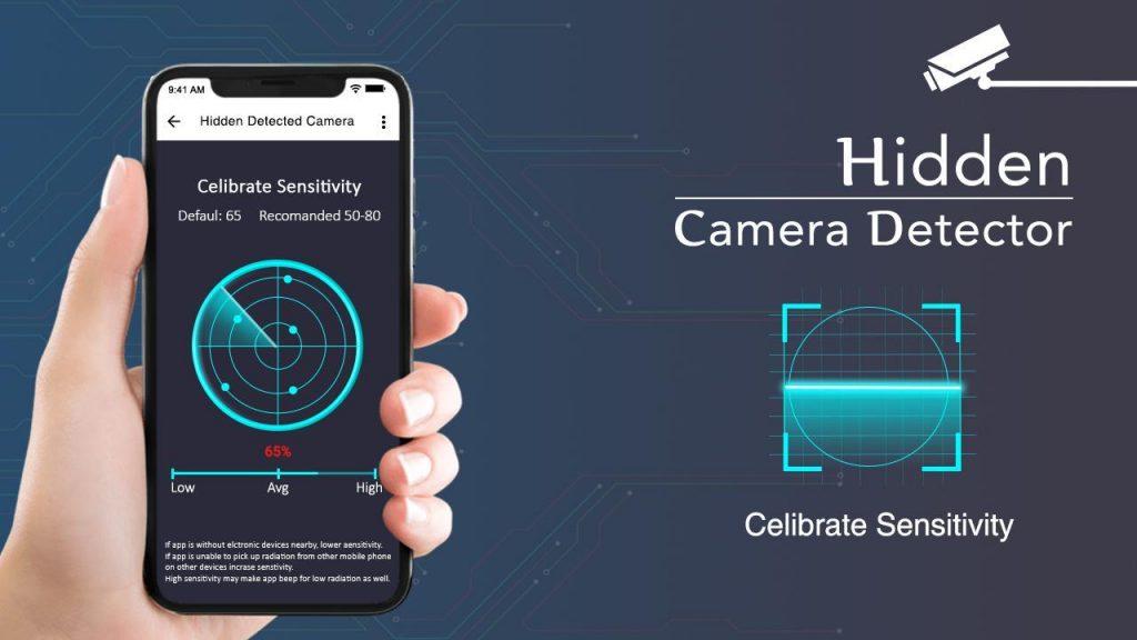 Sử dụng các ứng dụng phát hiện camera quay lén trên điện thoại